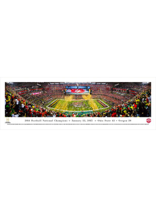 Ohio State Buckeyes 2014 Football National Champions Tubed Unframed Poster