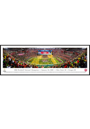 Ohio State Buckeyes 2014 Football National Champions Standard Framed Posters