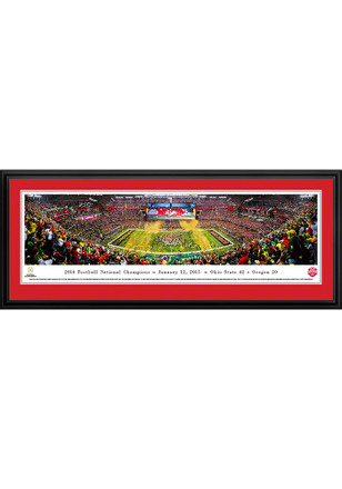 Ohio State Buckeyes 2014 Football National Champions Deluxe Framed Posters