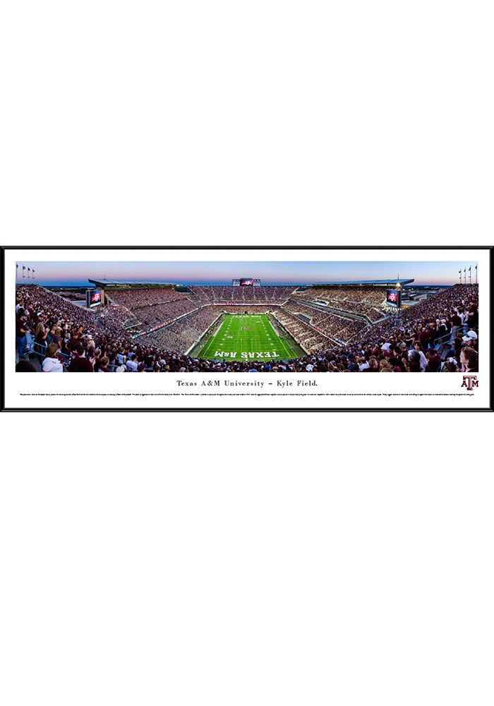 Texas A&M Aggies Kyle Field Endzone Standard Framed Posters - Image 1