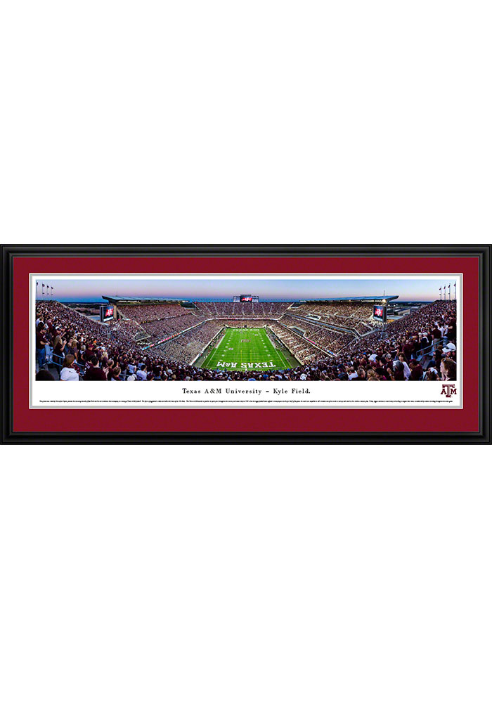 Texas A&M Aggies Kyle Field Endzone Deluxe Framed Posters - Image 1