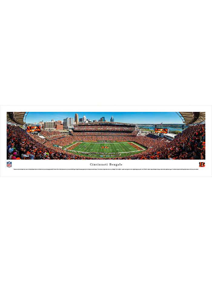 Cincinnati Bengals Paul Brown Stadium Tubed Unframed Poster - Image 1