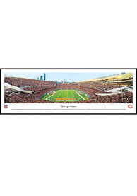 Chicago Bears Soldier Field Endzone Standard Framed Posters