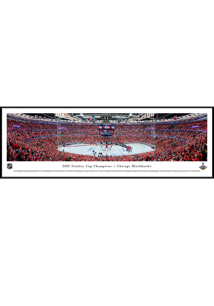 Chicago Blackhawks 2015 Stanley Cup Champions Standard Framed Posters - Image 1
