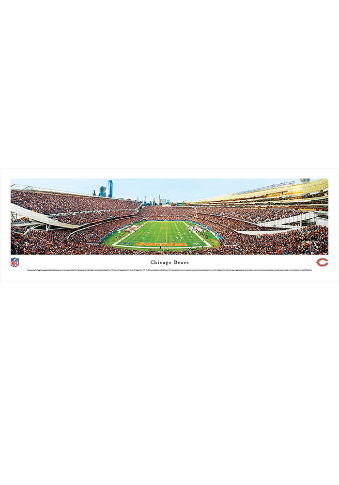 Chicago Bears Soldier Field Endzone Tubed Unframed Poster - Image 1