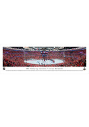 Chicago Blackhawks 2015 Stanley Cup Champions Panorama Unframed Poster