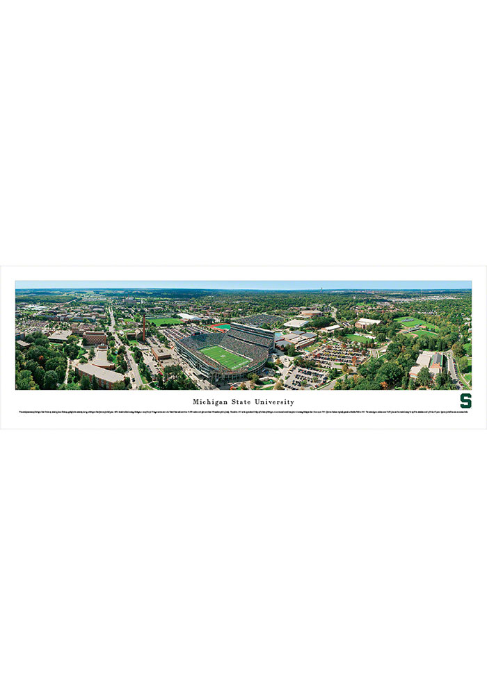 Michigan State Spartans Aerial Tubed Unframed Poster - Image 1