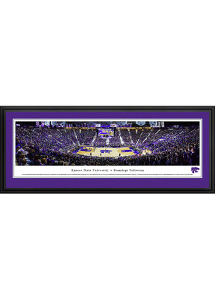 K-State Wildcats Bramlage Coliseum Deluxe Framed Posters