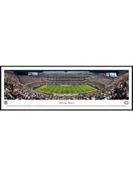 Chicago Bears Soldier Field At Night Standard Framed Posters