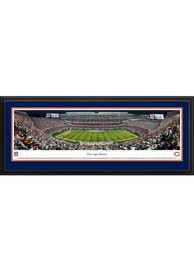 Chicago Bears Soldier Field At Night Deluxe Framed Posters