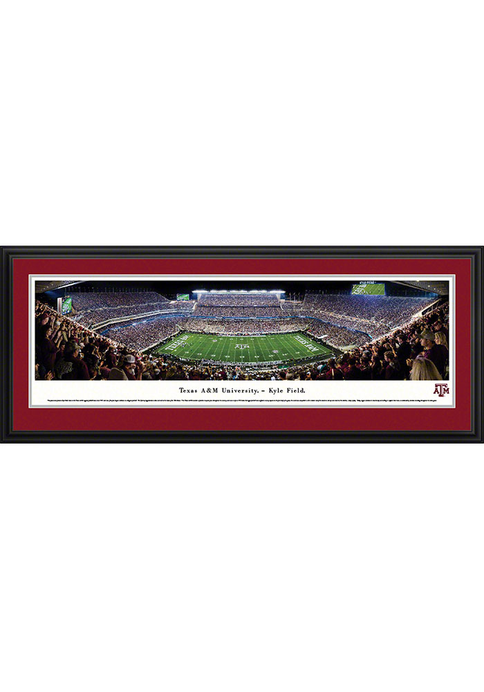 Texas A&M Aggies Kyle Field Deluxe Framed Posters - Image 1