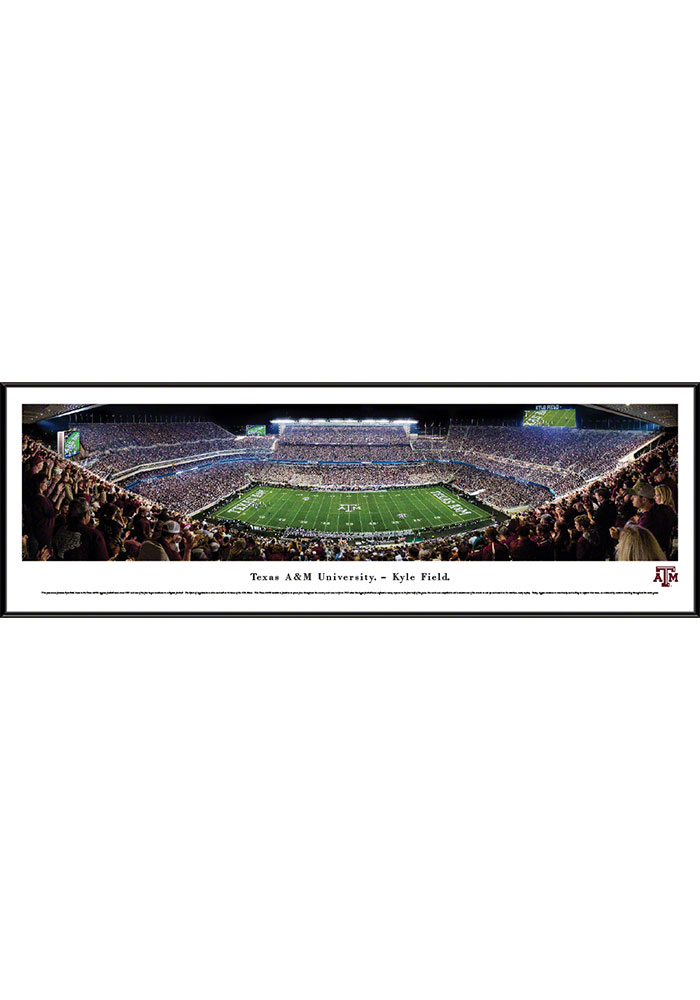Texas A&M Aggies Kyle Field Standard Framed Posters - Image 1