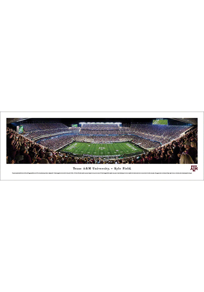 Texas A&M Aggies Kyle Field Tubed Unframed Poster - Image 1