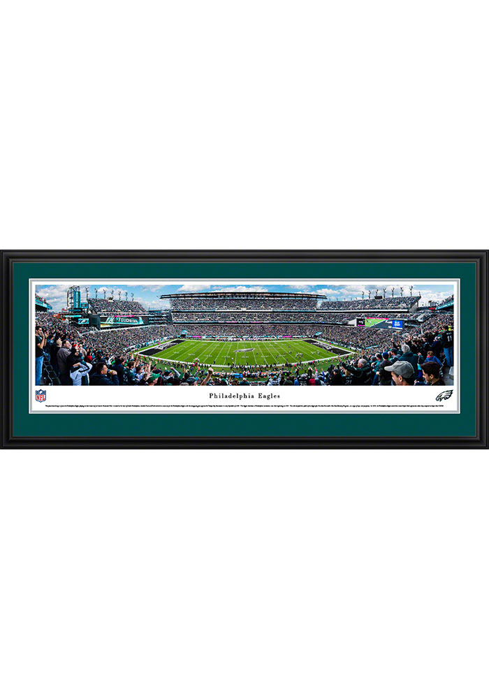 Philadelphia Eagles Lincoln Financial Field Stadium Deluxe Framed Posters - Image 1