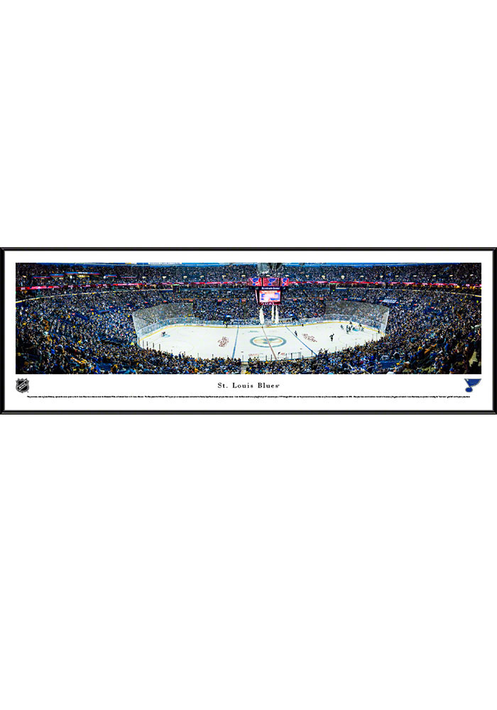 St Louis Blues Scottrade Center Standard Framed Posters - Image 1