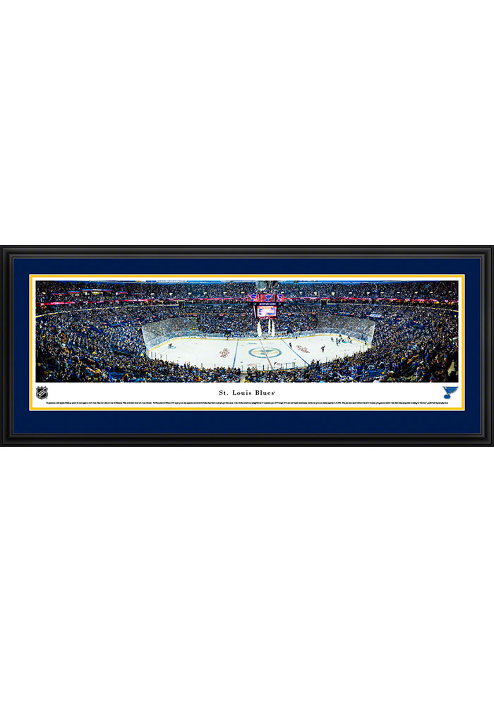 St Louis Blues Scottrade Center Deluxe Framed Posters - Image 1