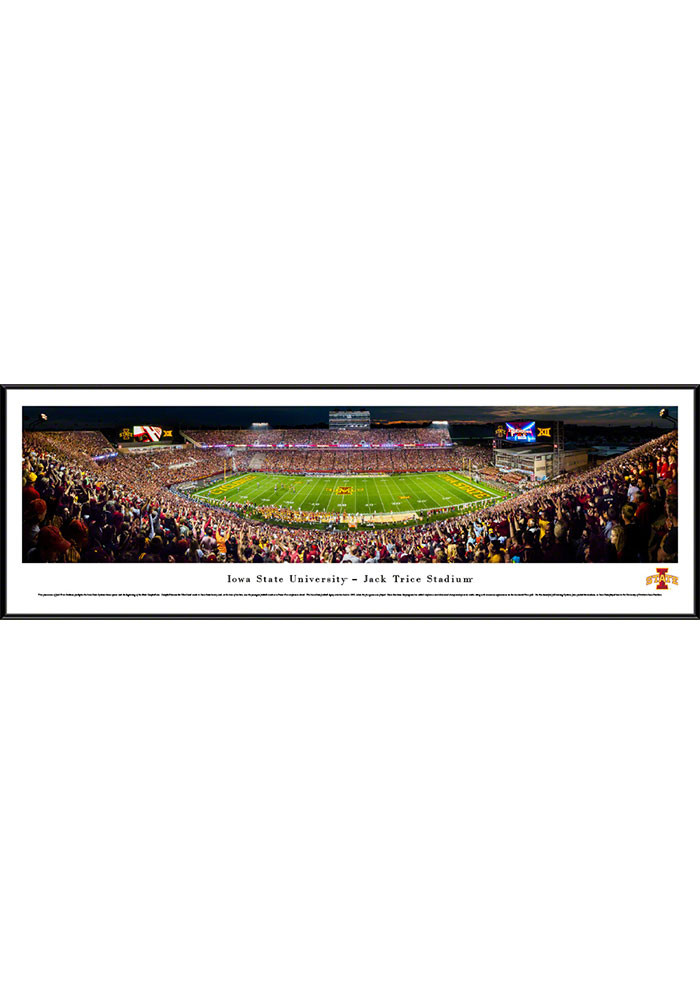 Iowa State Cyclones Jack Trice Stadium Standard Framed Posters - Image 1