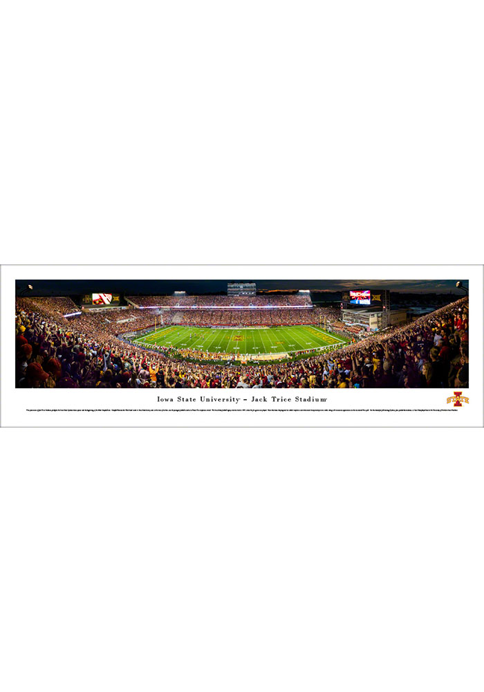 Iowa State Cyclones Jack Trice Stadium Tubed Unframed Poster - Image 1