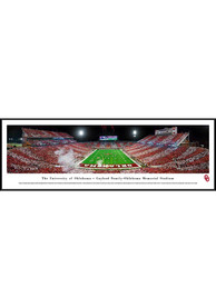 Oklahoma Sooners Gaylord Family-OK Memorial Stadium Striped Standard Framed Posters