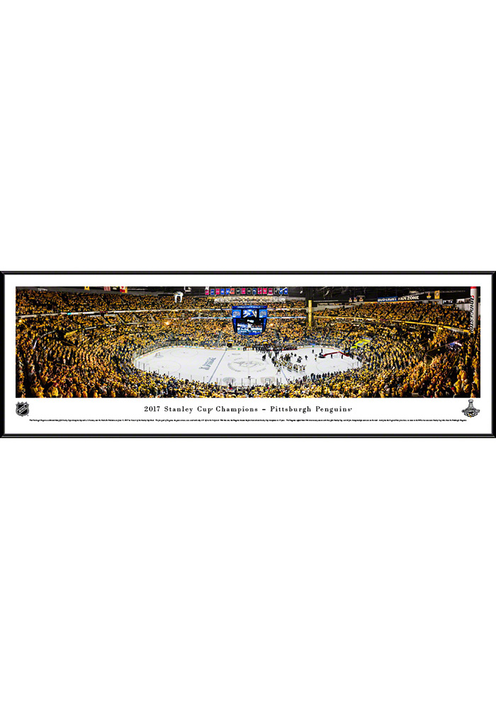 Pittsburgh Penguins 2017 Stanley Cup Champions Standard Framed Posters 16630762