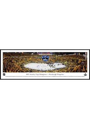 Pittsburgh Penguins 2017 Stanley Cup Champions Standard Framed Posters