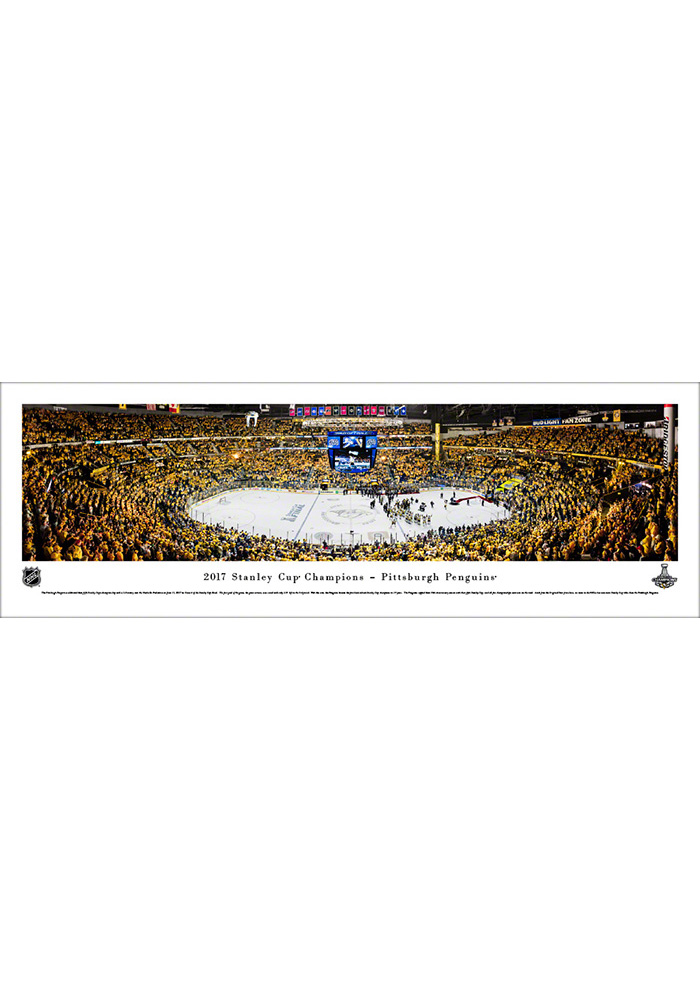 Pittsburgh Penguins 2017 Stanley Cup Champions Tubed Unframed Poster 16630768