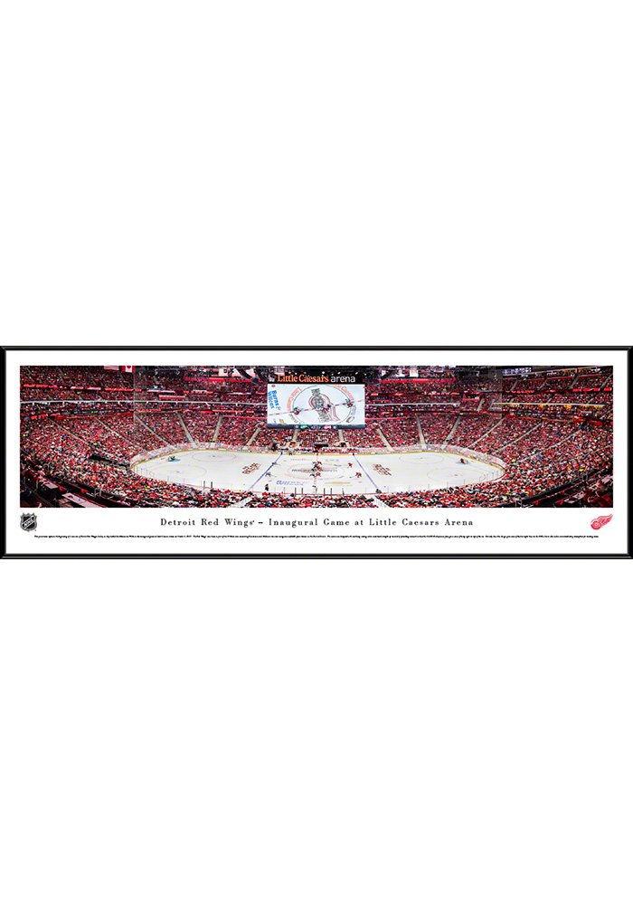Detroit Red Wings Little Caesars Arena Standard Framed Posters - Image 1