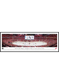 Detroit Red Wings Little Caesars Arena Standard Framed Posters