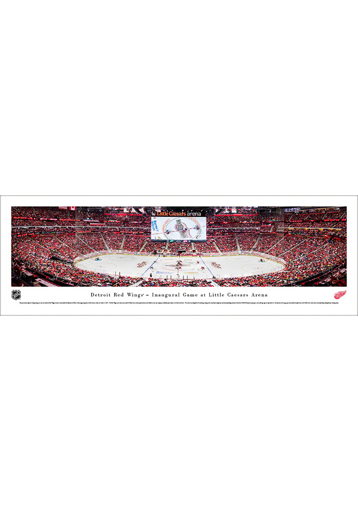 Detroit Red Wings Little Caesars Arena Tubed Unframed Poster