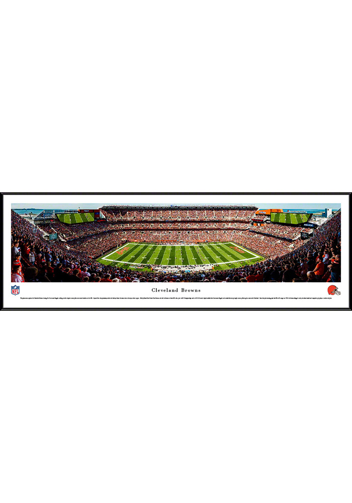 Cleveland Browns FirstEnergy Stadium Standard Framed Posters - Image 1