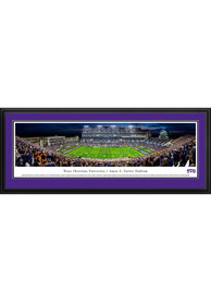TCU Horned Frogs Amon Carter Stadium-Night Deluxe Framed Posters