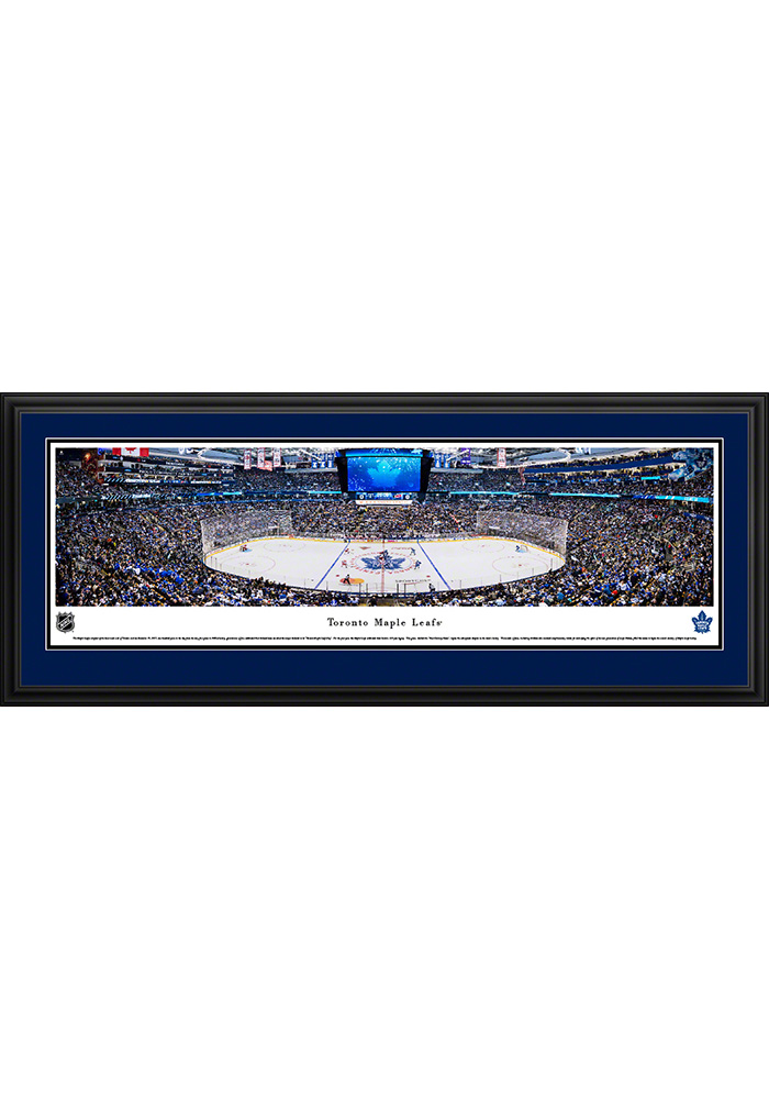 Toronto Maple Leafs Deluxe 100th Anniversary Framed Posters - Image 1