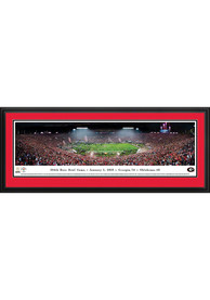 Georgia Bulldogs Deluxe 2018 Rose Bowl Framed Posters