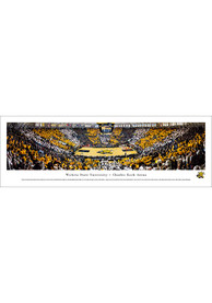 Wichita State Shockers Charles Koch Arena Striped Tubed Unframed Poster