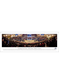Gonzaga Bulldogs Basketball Deluxe Panorama Framed Posters