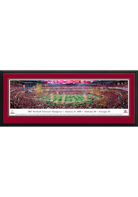 Alabama Crimson Tide 2017 Football National Champions Deluxe Framed Posters