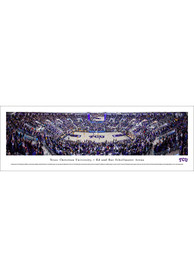 TCU Horned Frogs Ed and Rae Schollmaier Arena Tubed Unframed Poster