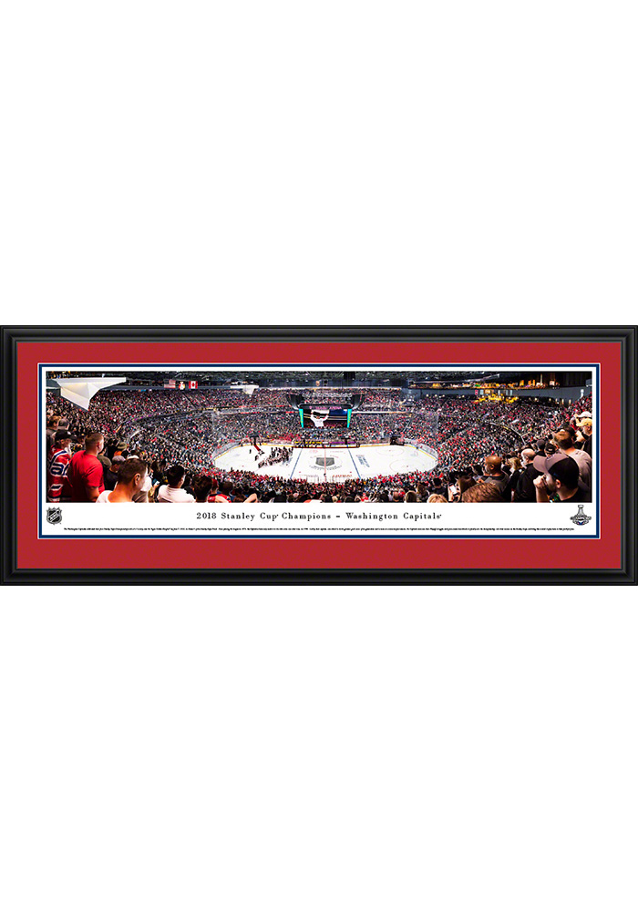 Washington Capitals 2018 Stanley Cup Champions Deluxe Framed Posters - Image 1
