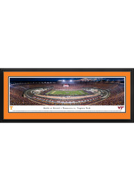 Tennessee Volunteers Battle at Bristol TN vs VT Deluxe Framed Posters