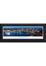 Pittsburgh at Twilight Deluxe Framed Posters
