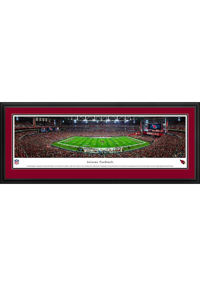 Arizona Cardinals 50 Yard Line Deluxe Framed Posters - Image 1
