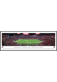 Atlanta Falcons 1st Game at Mercedes-Benz Stadium Standard Framed Posters