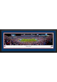 Buffalo Bills Football Night Game Deluxe Framed Posters