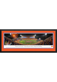 Clemson Tigers Football Night Game Deluxe Framed Posters