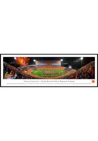 Clemson Tigers Football Night Game Standard Framed Posters