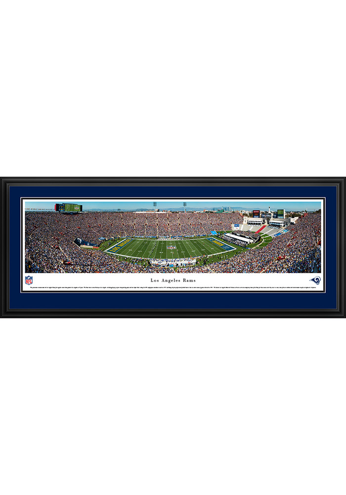 Los Angeles Rams 1st Game in L.A. Deluxe Framed Posters - Image 1