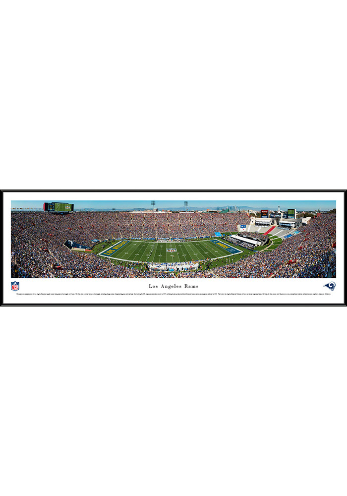 Los Angeles Rams 1st Game in L.A. Standard Framed Posters - Image 1