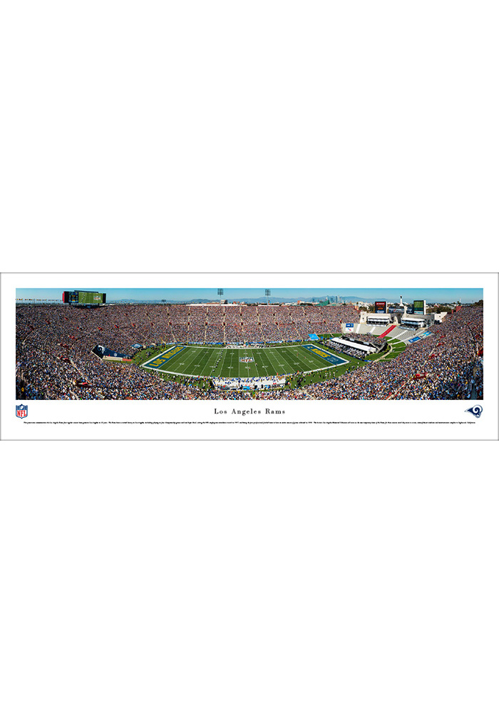 Los Angeles Rams 1st Game in L.A. Unframed Unframed Poster - Image 1