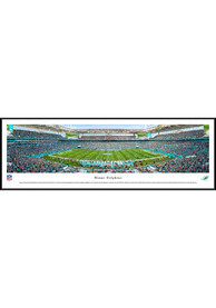 Miami Dolphins 50 Yard Line Standard Framed Posters