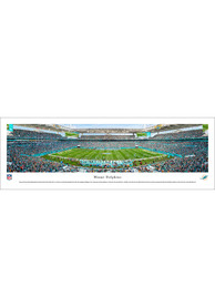 Miami Dolphins 50 Yard Line Unframed Unframed Poster